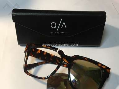 Quay Eyeware - QUAY Australia doesn't stand behind its products