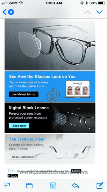 44b3ade6cd GlassesUSA - False and misleading advertisements Oct 29