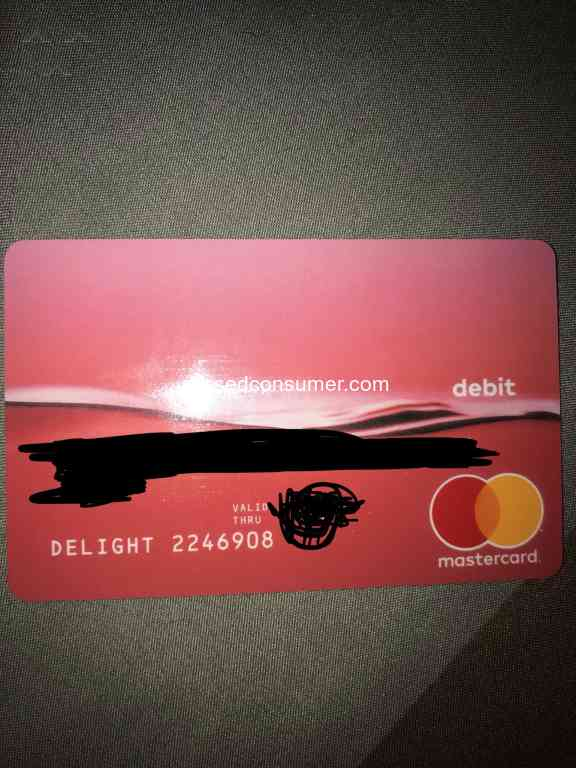 Doordash Delight Debit Card Reviews and Complaints