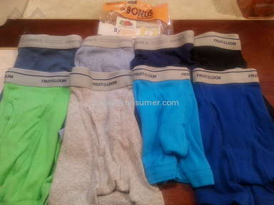 Fruit of the Loom - Underwear Review from Presque Isle, Maine