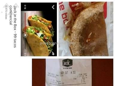Jack In The Box Fast Food review 77565
