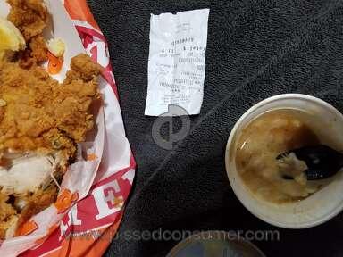 Popeyes Louisiana Kitchen Mashed Potato review 269862