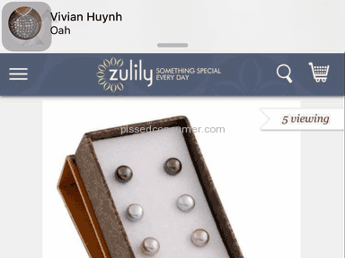 Zulily - Earrings Review from Hanoi, Ha Noi