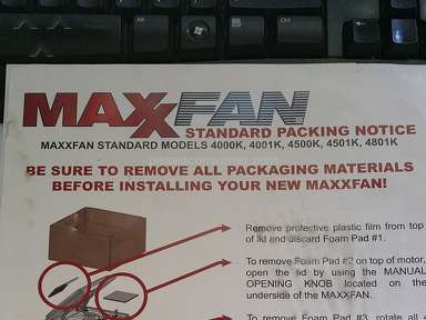 Etrailer Maxxair Ventilation Fan review 150446