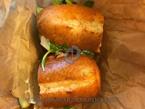 Panera Bread The Italian Sandwich