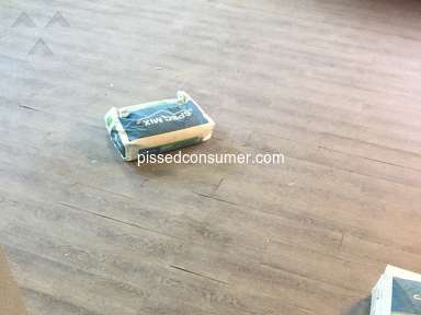 TrafficMaster Flooring - Sub standard product