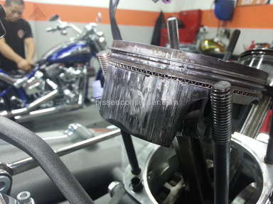 Harley Davidson - CVO Breakout engine overheated