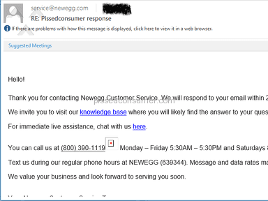 Newegg - They have lost a business account. poor shipping, dishonest, bad customer care!!