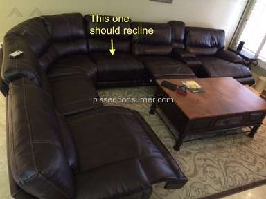 Living Spaces Recliner review 44369