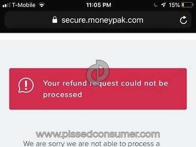 Green Dot Moneypak - Deposit a card
