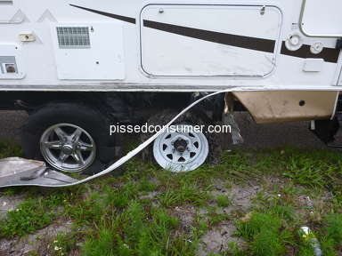 "Camping World - Hiding Behind the ""AS IS"" Clause for Used Trailer"