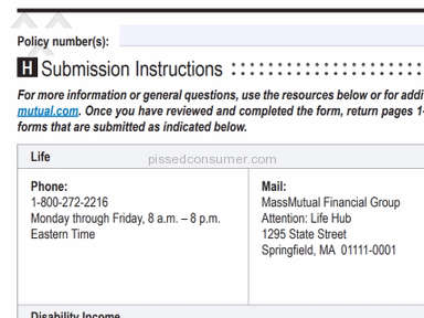 MassMutual - Totally incompetent Customer Service