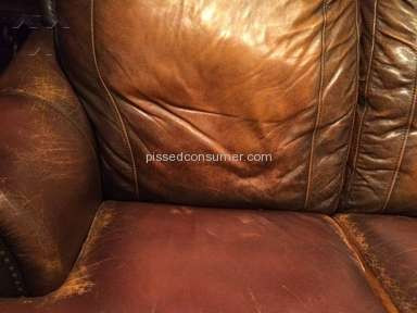 Art Van Furniture Leather Couch Review from Dearborn Heights, Michigan