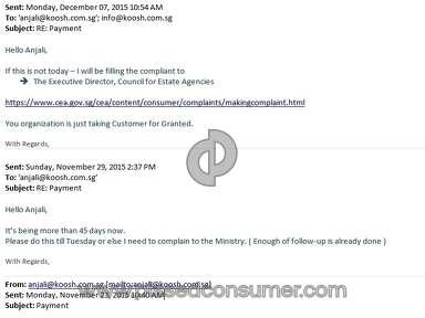 Koosh Employment Services Employment Agencies review 101227