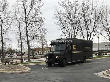 Ups - Vehicle Driver Review