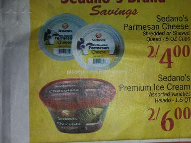 Sedanos Two For Six Dollars Deal review 205142