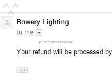 Bowery Lighting Auctions and Internet Stores review 112553