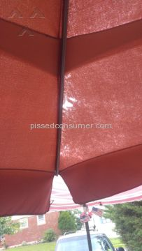 Treasure Garden Ag25 Patio Umbrella