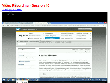 Zarantech Sap S/4 Hana Simple Finance Course review 188390