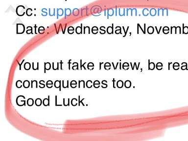 iPlum - Bad service. Shut down my business #'s in retaliation for bad reviews of them