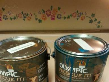 Lowes Olympic Paint And Stain Rescue It Wood And Concrete Paint review 142730