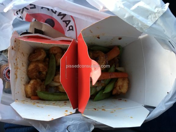 Panda Express Pacific Chili Shrimp Shrimp