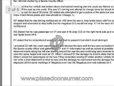 Megabus Transport review 81003