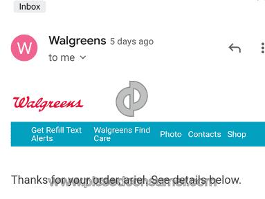 Walgreens Prescription Refill review 732097