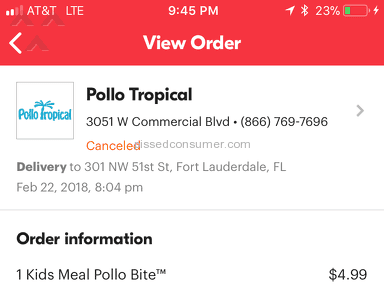 Grubhub Delivery Service review 268064