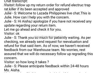 Lazada Philippines - Customer service in Lazada dont takes complaint seriously