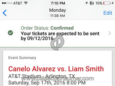 Vivid Seats Canelo Alvarez Vs Liam Smith Event Ticket review 161762