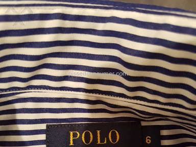 Ralph Lauren - Disappointing and frustrating experience