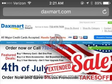 Daxmart Customer Care review 154336