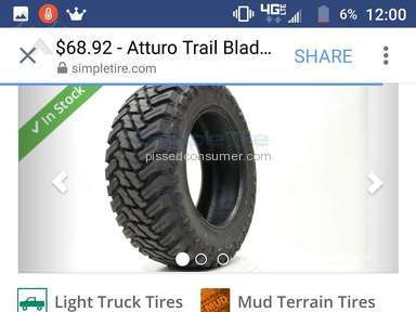 SimpleTire - Atturo Tires Review