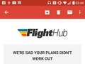 Flighthub - Want to find out why way my booking was not successful