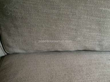 Pottery Barn - Performance Tweed:  6 months and pilling on fabric - do not buy