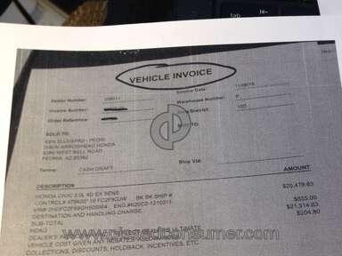 Costco Auto Program Dealers review 100879