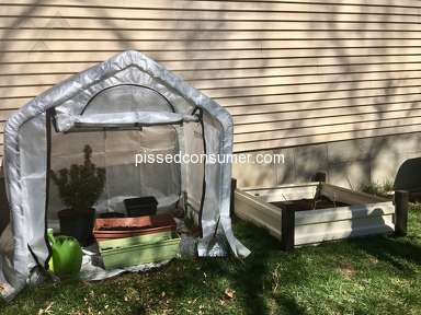 Shelterlogic - Good experience with small greenhouse