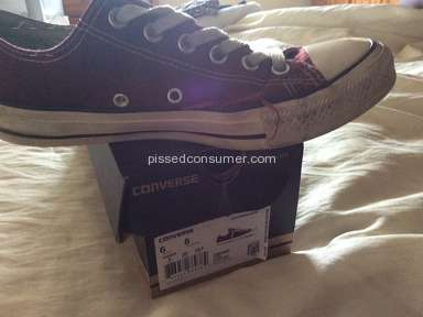 converse shoes poor quality