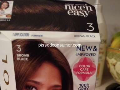 Clairol - Unhappy with changes