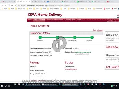Ceva Logistics - Mind Boggling Ineptitude