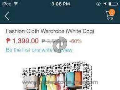 Lazada Philippines Wardrobe review 139571
