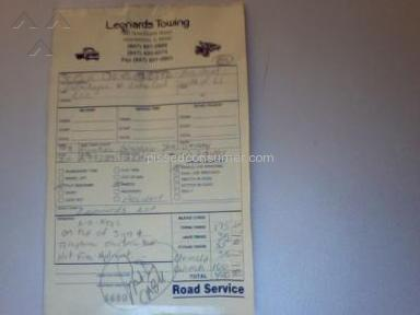 Leonards Towing Service Centers and Repairs review 4005