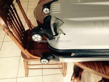 American Airlines - Damaged valet luggage