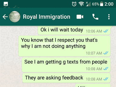 Royal Migration - Very worst
