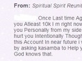 Kasamba - 99% of psychics there are scammers