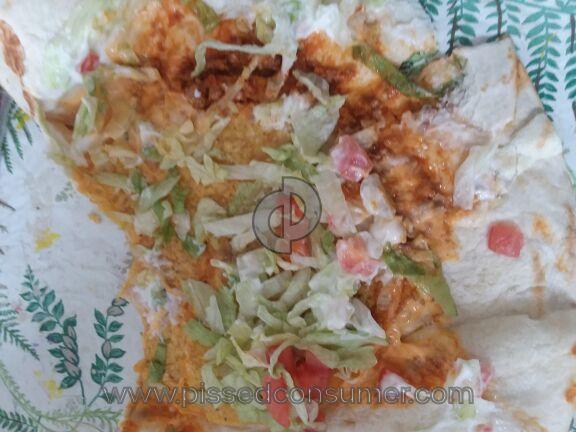Taco Bell Supreme Crunchwrap Wrap