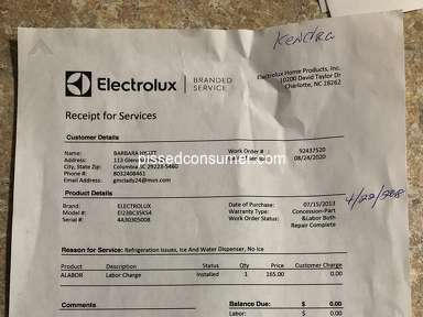 Lowes Electrolux Refrigerator review 784976