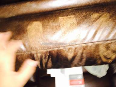 Conns - Leather Couch Review from Houston, Texas