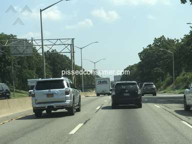 Cintas - Driver horror experience